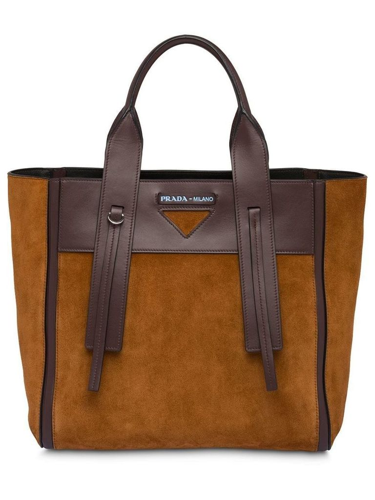 Prada Ouverture medium bag - Brown