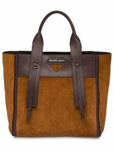 Prada Ouverture medium bag - Brown
