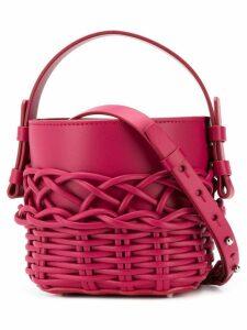 Nico Giani woven bucket bag - Pink