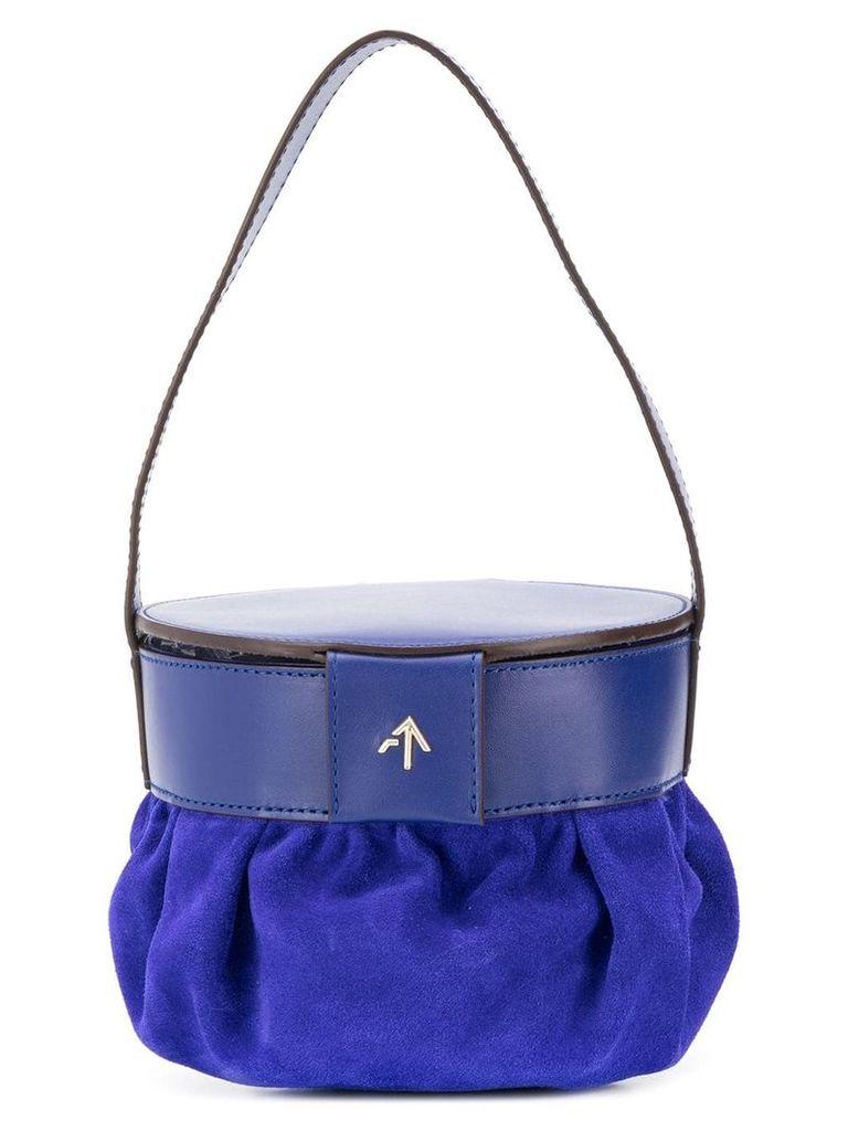 Manu Atelier bucket bag - Blue