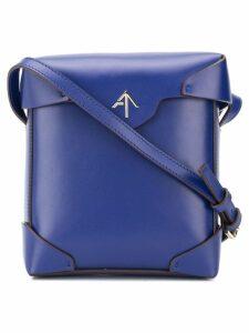 Manu Atelier mini Pristine crossbody bag - Blue