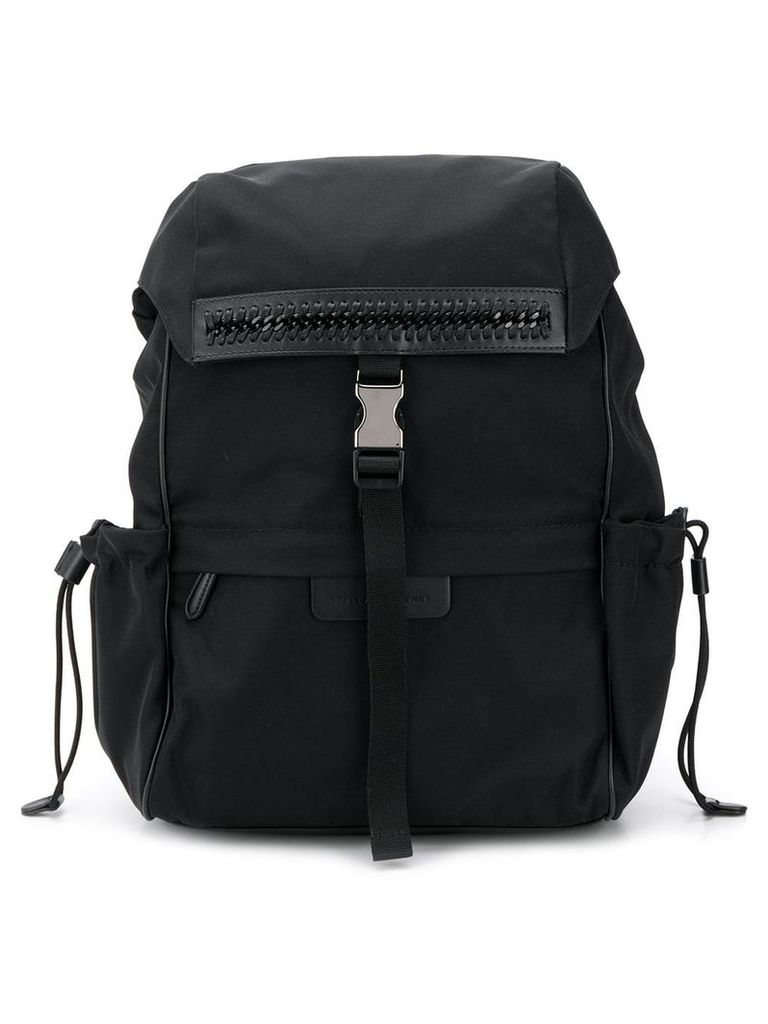 Stella McCartney logo backpack - Black