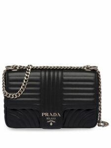 Prada Diagramme shoulder bag - Black