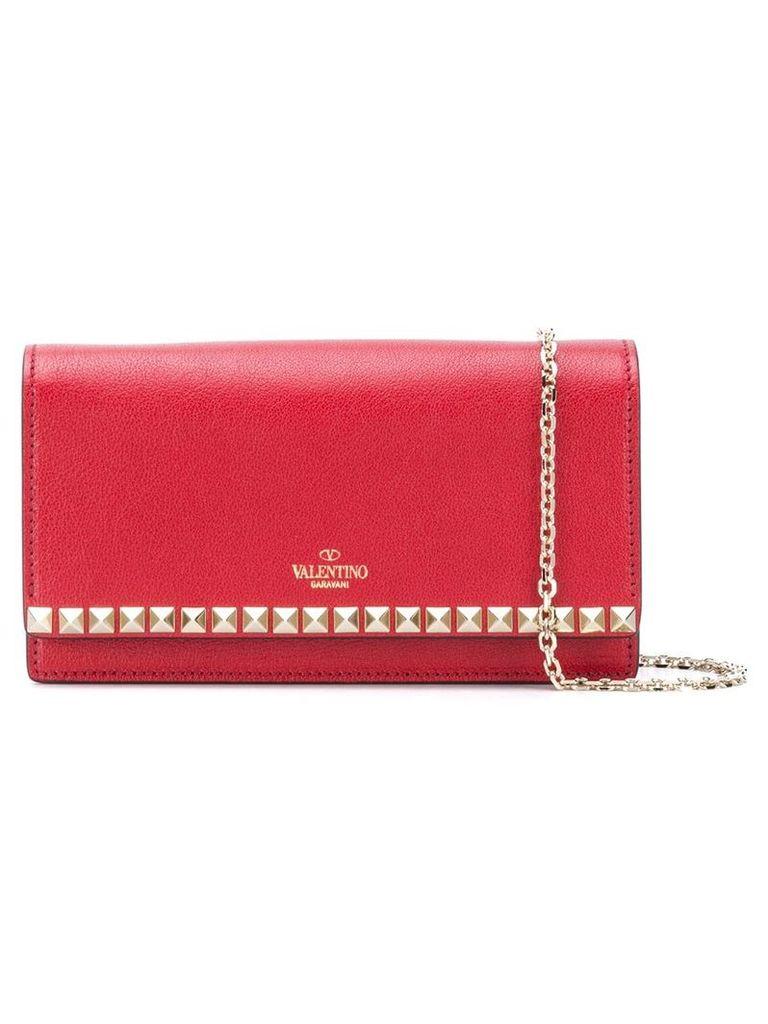 Valentino alentino Garavani Rockstud crossbody bag - Red