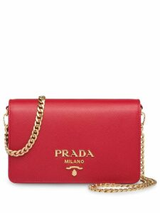 Prada Saffiano leather shoulder bag - Red