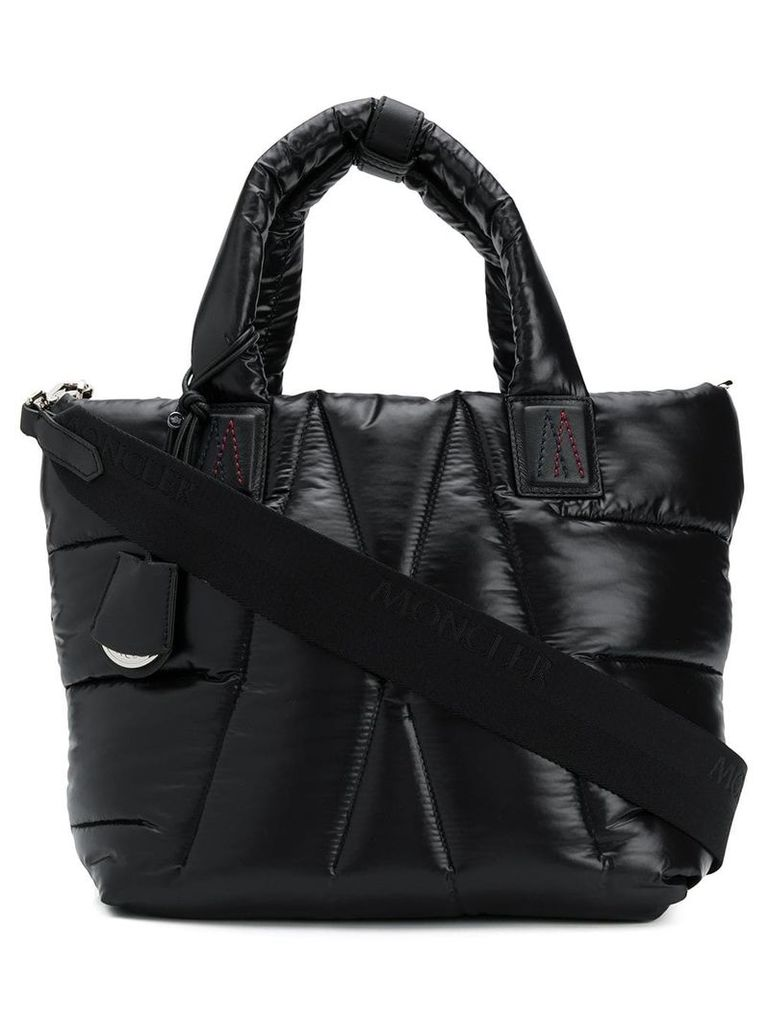 Moncler padded tote - Black