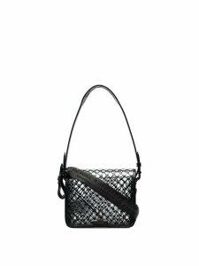 Off-White PVC net shoulder bag - Black