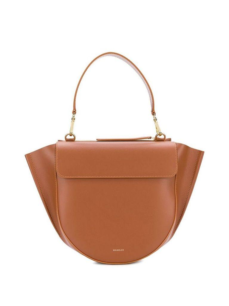Wandler Hortensia medium shoulder bag - Brown