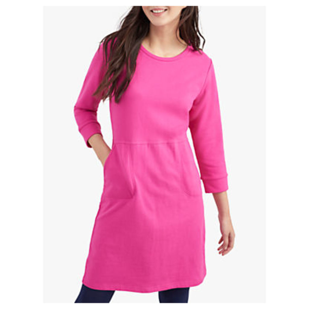 Joules Valo Jersey Dress, Pink