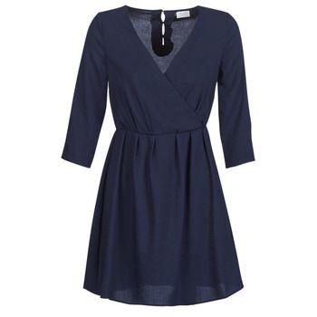 Vila  VIROSSIE  women's Dress in Blue