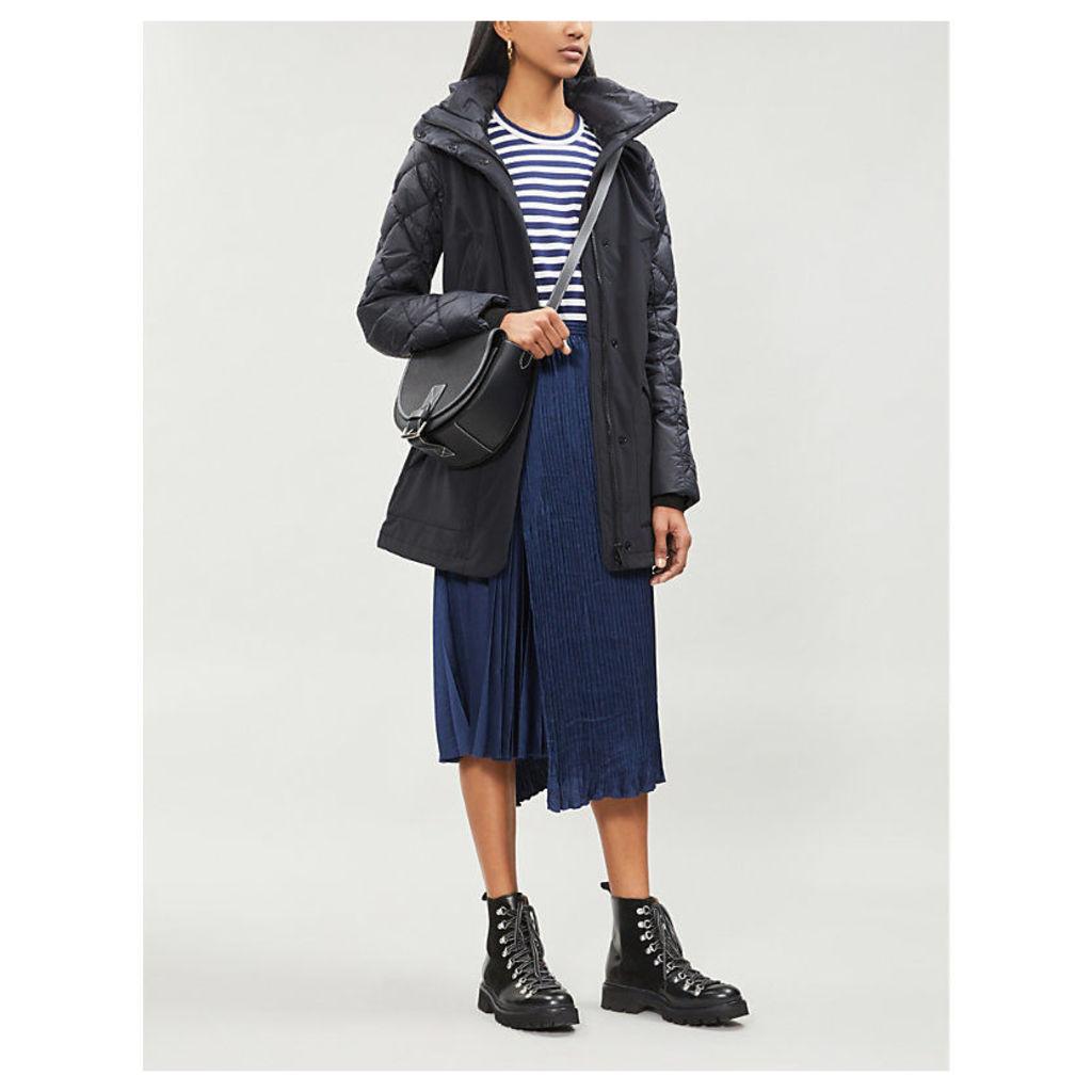 Berkley shell and down-blend coat