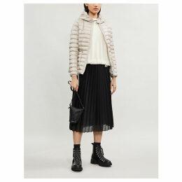 Raie hooded quilted coat