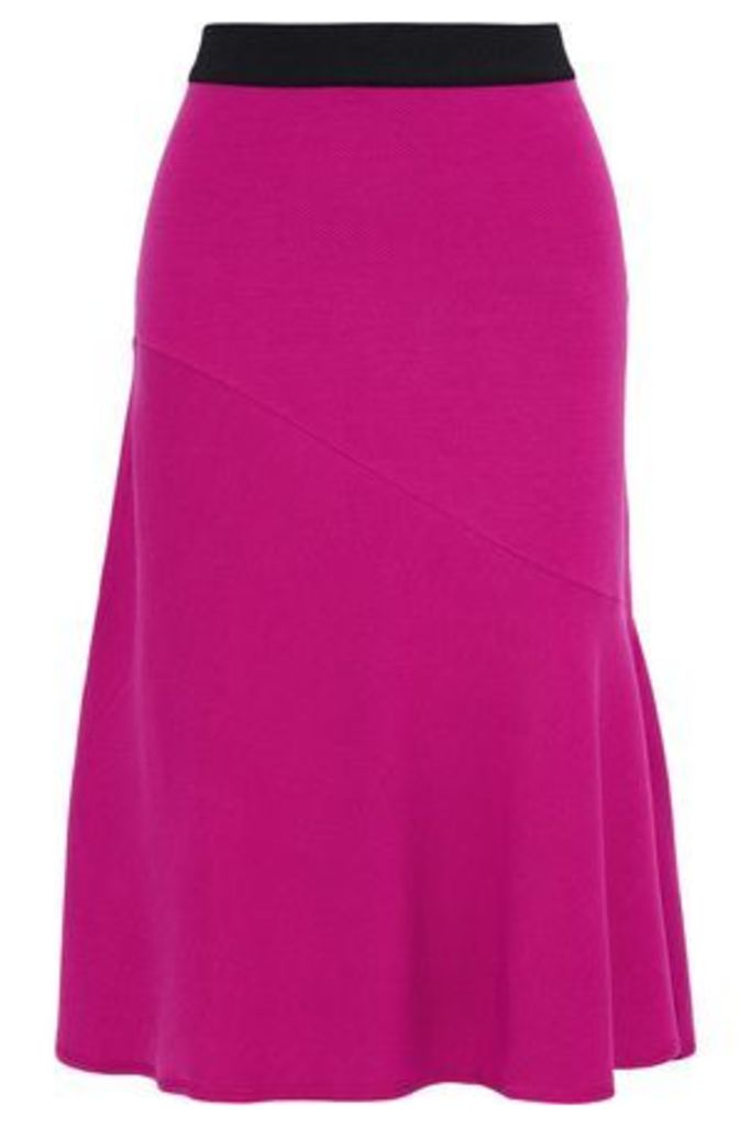 By Malene Birger Woman Tassia Ribbed-knit Skirt Fuchsia Size S