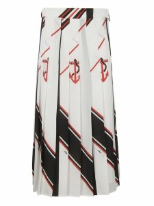 MSGM Graphic Print Skirt