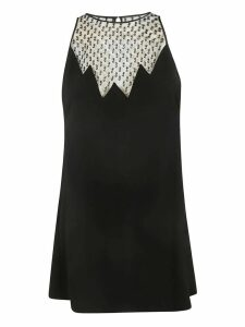 Saint Laurent Beaded Mini Dress
