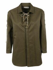 Saint Laurent Tie Detail Shirt