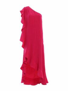 Givenchy Asymmetric Ruffled Dress