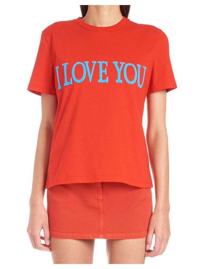 Alberta Ferretti 'i Love You' T-shirt