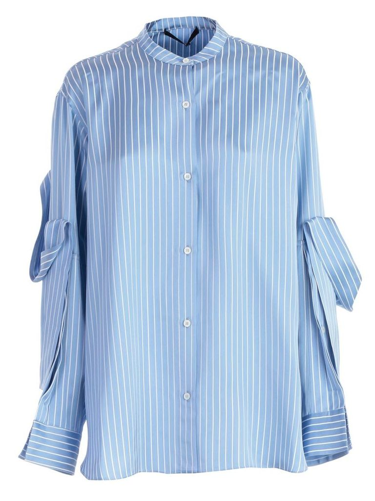 Rokh Strapped Sleeve Shirt
