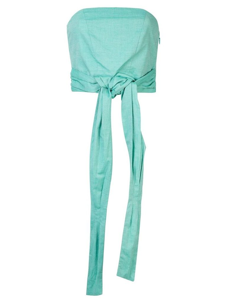 C & M Solene cropped top - Green