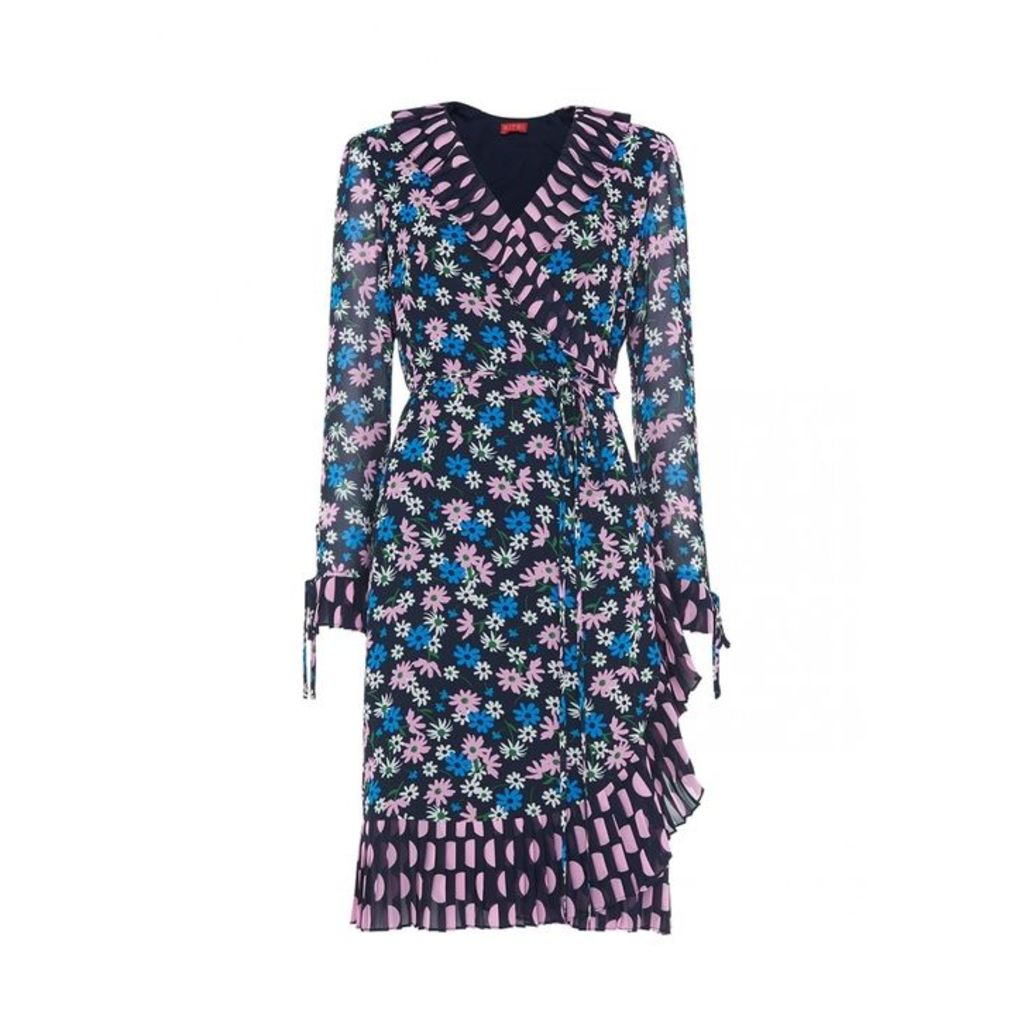 Kitri Anastasia Floral Wrap Dress