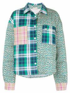 Natasha Zinko patchwork bomber jacket - Multicolour