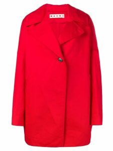 Marni single-button jacket - Red