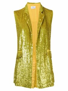 P.A.R.O.S.H. sequin waistcoat - Yellow