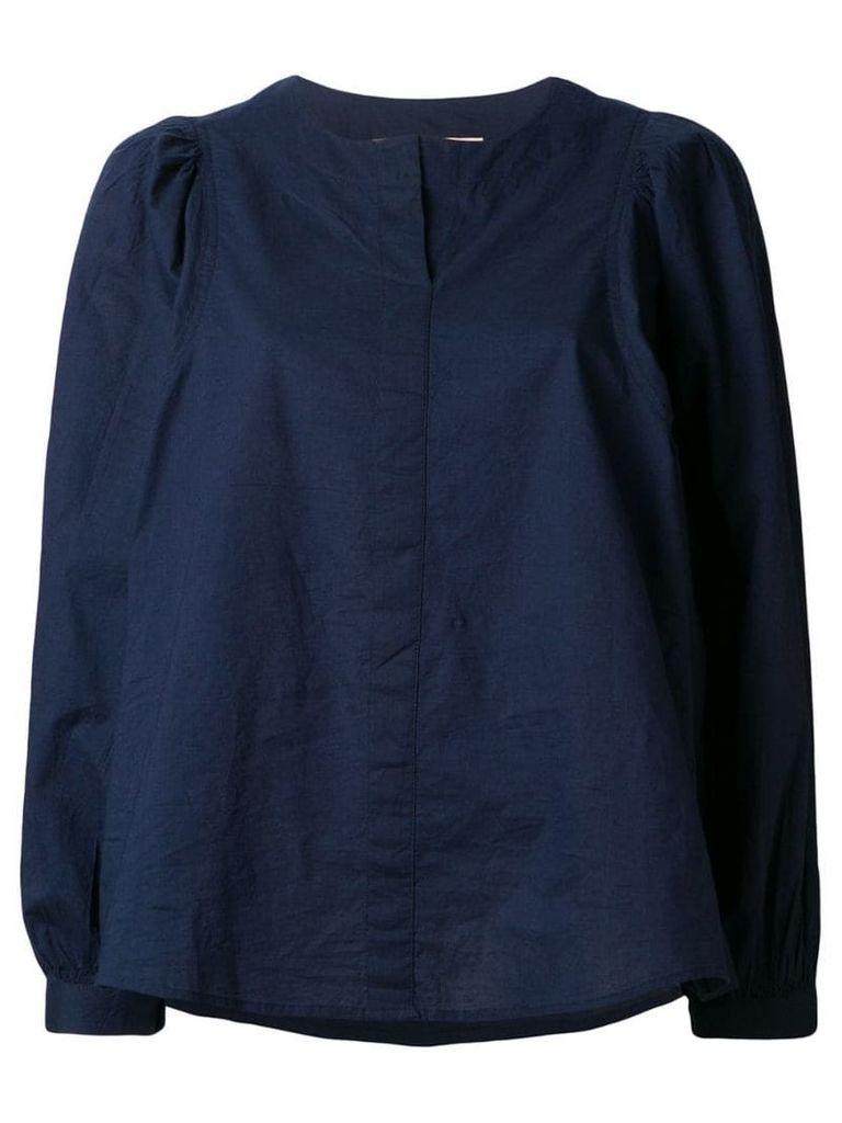 Vanessa Bruno puff sleeve blouse - Blue