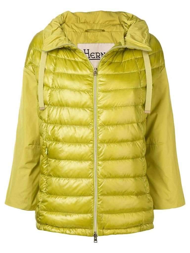Herno spread collar jacket - Green