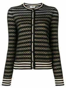 Fendi lace knit cardigan - Black