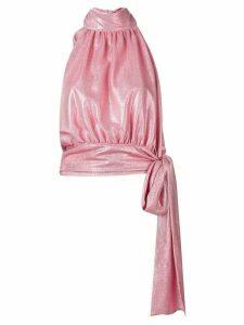 Brognano halter neck top - Pink