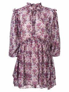 Isabel Marant floral print dress - Pink