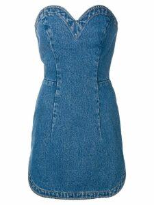 Christopher Kane denim mini dress - Blue