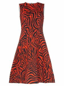 Calvin Klein 205W39nyc Sleeveless Printed Midi-Dress - Red
