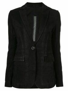 Isaac Sellam Experience classic slim-fit blazer - Black