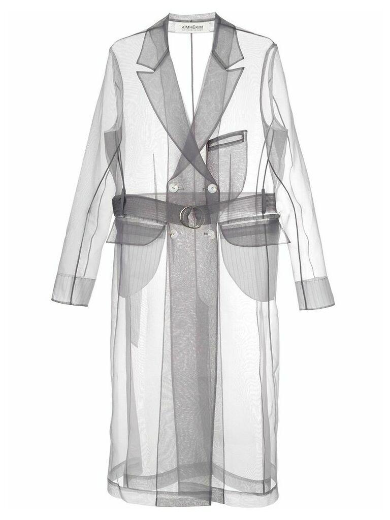 Kimhekim Guifei Organza Coat - Grey