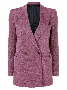 Blazé Milano metallized blazer - Pink