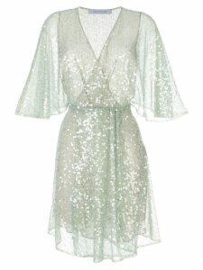 Walk Of Shame sequin embellished dress - Blue