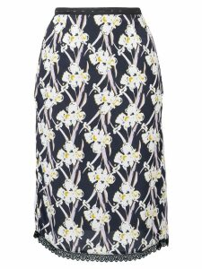 Dorothee Schumacher Flower Breeze pencil skirt - Black