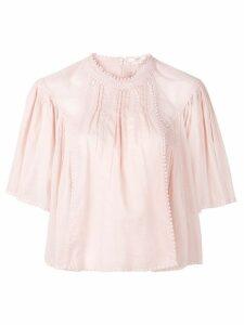 Isabel Marant Étoile Algar vintage lace top - Pink