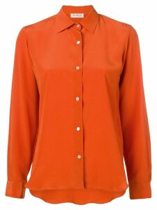 Blanca long sleeve shirt - Orange