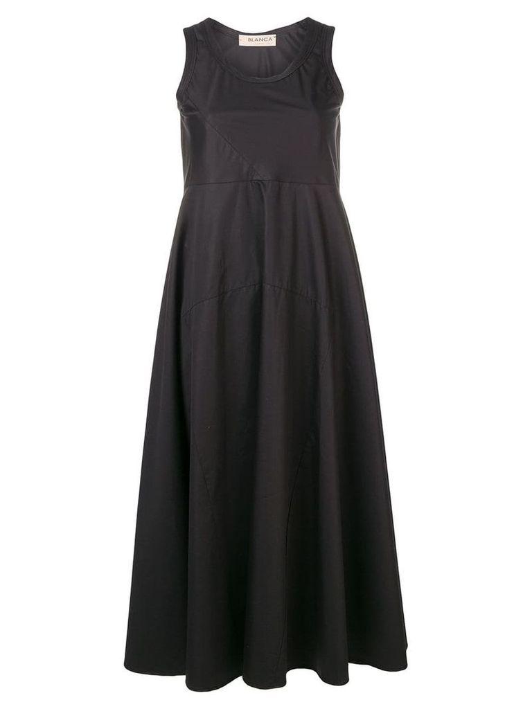 Blanca sleeveless midi dress - Nero