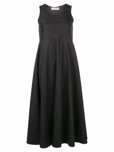 Blanca sleeveless midi dress - Nero