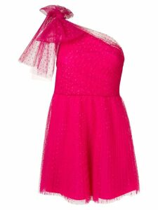 Red Valentino tulle mini dress - Pink