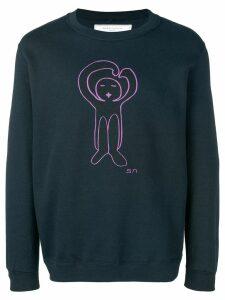 Société Anonyme logo sweatshirt - Blue