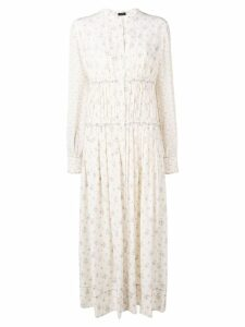 Joseph Tala Woolf patchwork dress - Neutrals