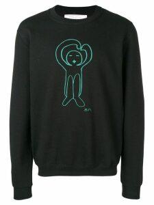 Société Anonyme printed logo sweatshirt - Black