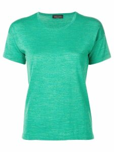 Roberto Collina round neck knitted top - Green