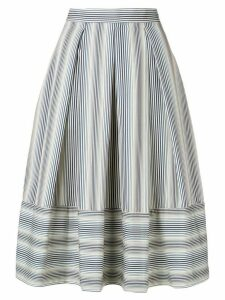 Société Anonyme striped A-line skirt - Blue